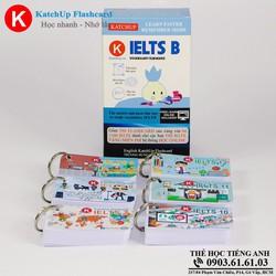 Bộ KatchUp Flashcard IELTS B - High Quality - Trắng 02BT