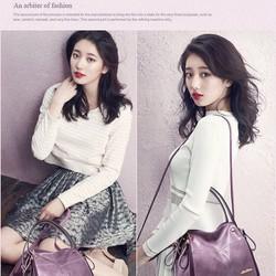 Túi xách công sở da mềm nữ thời trang Hàn Quốc Aliwilliam