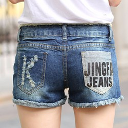 Quần short Jean năng đông