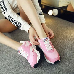 giầy thể thao nữ hồng
