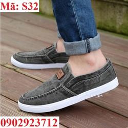 Giày Lười Nam Cá Tính Hàn Quốc Siêu Bền - S32