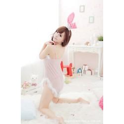 Đầm ngủ Copslay gợi cảm - bé Thỏ Ngọc nóng bỏng + tai thỏ