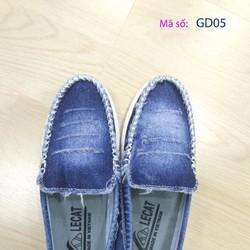 Giày mọi nữ vải jean thời trang - GD05