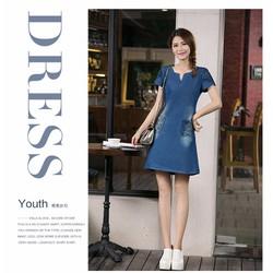 Đầm nữ Hàn Quốc trẻ trung, màu sắc cá tính-11043776