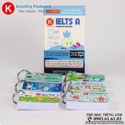 Bộ KatchUp Flashcard IELTS A - High Quality - Trắng 02AT