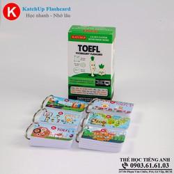 Bộ KatchUp Flashcard TOEFL A - High Quality - Trắng 03AT