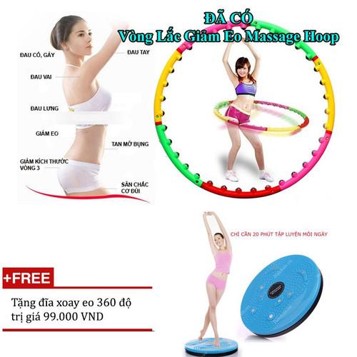 Bộ vòng lắc eo giảm cân hoạt tính massage +Tặng đĩa xoay eo - 4235068 , 5444135 , 15_5444135 , 219000 , Bo-vong-lac-eo-giam-can-hoat-tinh-massage-Tang-dia-xoay-eo-15_5444135 , sendo.vn , Bộ vòng lắc eo giảm cân hoạt tính massage +Tặng đĩa xoay eo