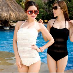 Đồ bơi nữ, đồ bơi kín đáo, bộ Monokini kiểu lưới sang trọng