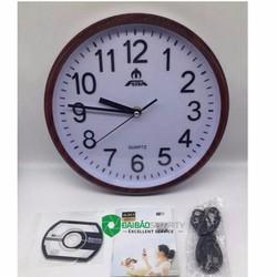 Đồng hồ treo tường ngụy trang camera HD