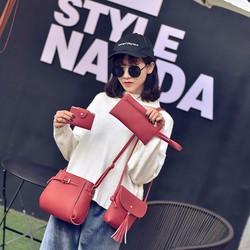 Bộ 4 túi xách nữ thời trang phong cách Hàn Quốc 2017 ĐL36