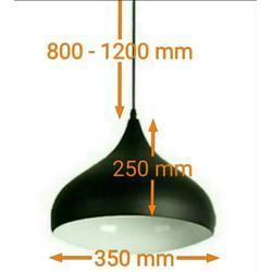 Chao Đèn Thả Trần trang trí D350