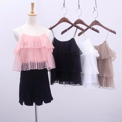 Áo voan tulle tầng