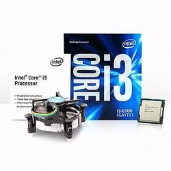 CPU Intel Core i3-6100 Skylake |3.7GHz|