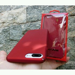 Ốp lưng màu đỏ iphone 6 6plus 7 7plus- hot nhất hiện nay