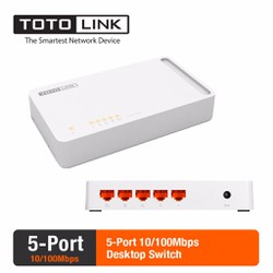 Switch 5 cổng 100Mbps TOTOLINK S505