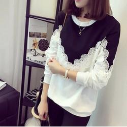 Áo nỉ nữ thời trang, kiểu dáng sành điệu, phong cách tự tin-AN11236349