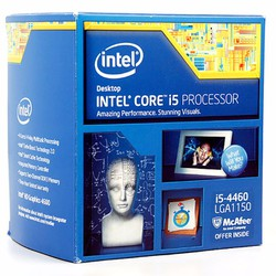 CPU Intel Core i5-4460 Haswell |3.2Ghz|