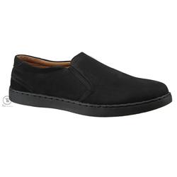 Giày lười Slipon da đen