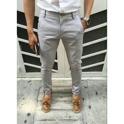 Quần kaki lật lai