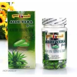 Viên Nang Aloe Vera Đẹp Da Trị  Của Robinson Pharma 60 viên