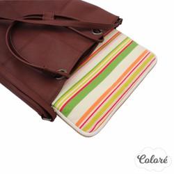 Túi laptop 13 inch sọc ngang nhiều màu