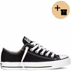 Giày Sneaker  Đen Cổ Thấp - Nữ