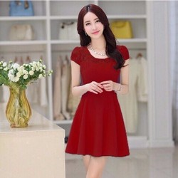 ĐẦM XÒE RUBY VAI REN