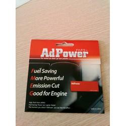 Miếng dán Adpower tiết kiệm nhiên liệu -giảm khí thải