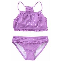8-13 tuổi - Set bikini chống nắng cho bé đi biển từ Crazy8 Mỹ