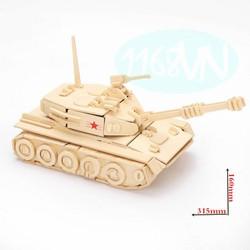 Đồ chơi lắp ráp 3D mô hình xe tăng
