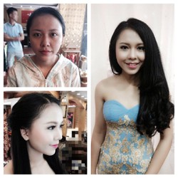 Nhận Make Up cô dâu tại nhà
