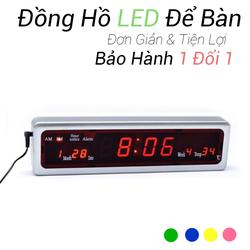 Đồng Hồ Để Bàn LED LCD