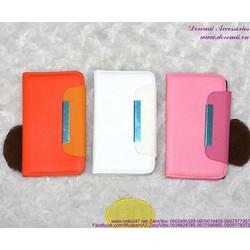 Giảm giá  Bao da Lumia 520 tag sắt bật ngang OLN14