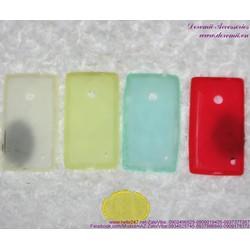 Giảm giá Ốp Lumia 520 nhựa mềm đơn giản OLN8