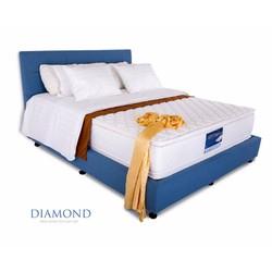 Nệm lò xo túi Diamond Vạn Thành 160-200-30CM