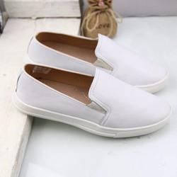 Giày lười nữ Slipon da dê - made in VN