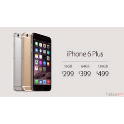 IPHONE 6 Plus 16GB Black Like New Quốc Tế