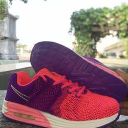 Giày nữ air max tím hồng