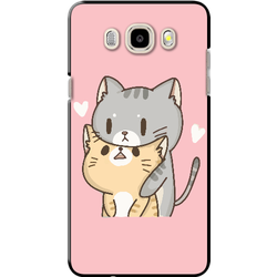 Ốp lưng SAMSUNG. Galaxy J5 2016 2 con mèo