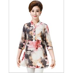 áo sơ mi hoa trung niên cao cấp size XL -5XL TOP63