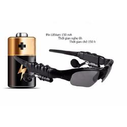 Mắt kính tai nghe tích hợp Bluetooth - Hàng nhập khẩu