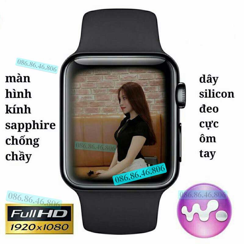 Đồng hồ thông minh Nhật nghe gọi giải trí Fuji SN08 PRO PLUS 4