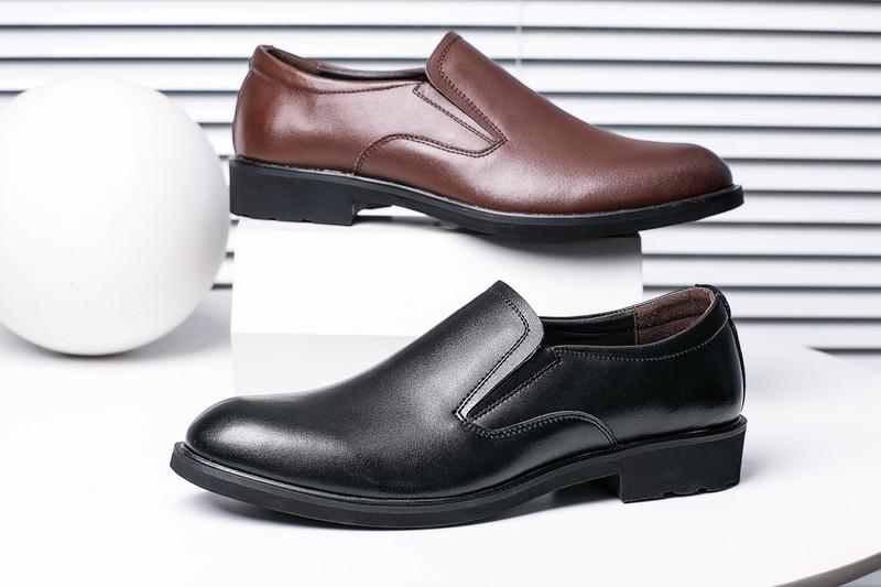 Giày Tây da thật - Sang Trọng, Lịch Lãm, mẫu mới nhất 5