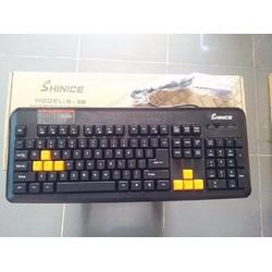 bàn phím  SHINICE S38  cong  PS2