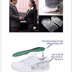 [ANNY] Hộp 10 Miếng Lót Giày tăng chiều cao silicon