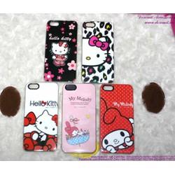 Ốp Iphone 5 nhựa cứng hình Kitty Melody dễ thương OP60
