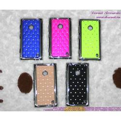Giảm giá  Ốp Lumia 520 đính hột cực đẹp OLN3