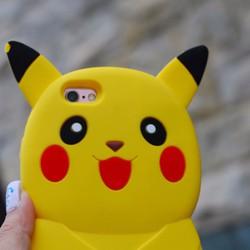 Ốp IPHONE 6, 6S Hình Thú Nổi 3d Pokemon