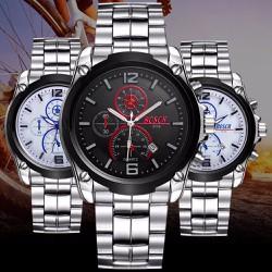 Đồng hồ thời trang nam cao cấp với kim phản quang 197