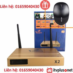 Android TV VinaBox X2 tặng Chuột quang không dây